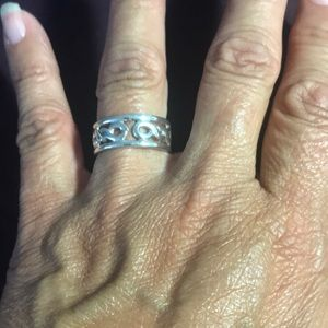 Hand made Sterling Silver 925 ring Size 8